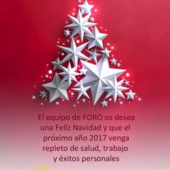 Fotos Profesionales De Navidad.Feliz Navidad Y Feliz Ano Nuevo 2017 Foro Tecnico De Formacion
