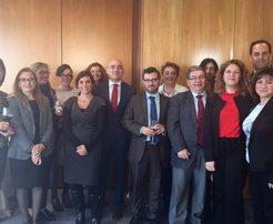 Imagen de asistentes a la reunión de RR.HH. - AESTE organizado por Foro Técnico de Formación en Madrid