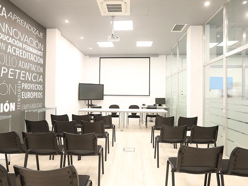 Imagen de sala de formación | Foro Técnico de Formación